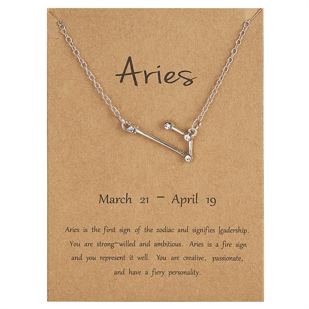 Zodiac Jewellery Uk - Aries Necklace