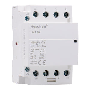 Household AC Contactor CT1-63 63A 2 Pole 1NO 1NC