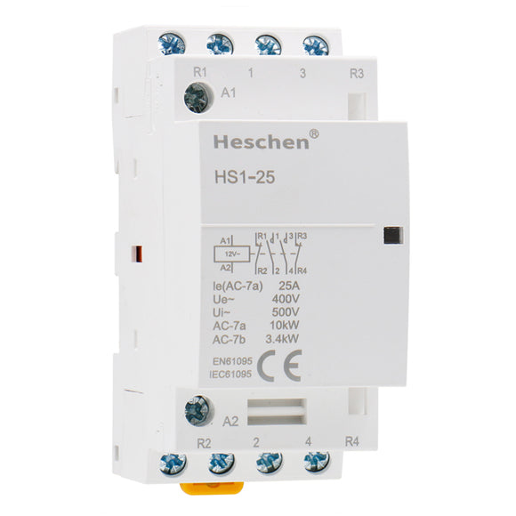 Household AC Contactor CT1-25 25A 4 Pole 1NO 1NC