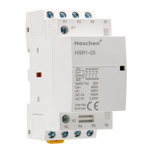 Household AC Contactor HSR1-25 25A 4P NC Normally Closed