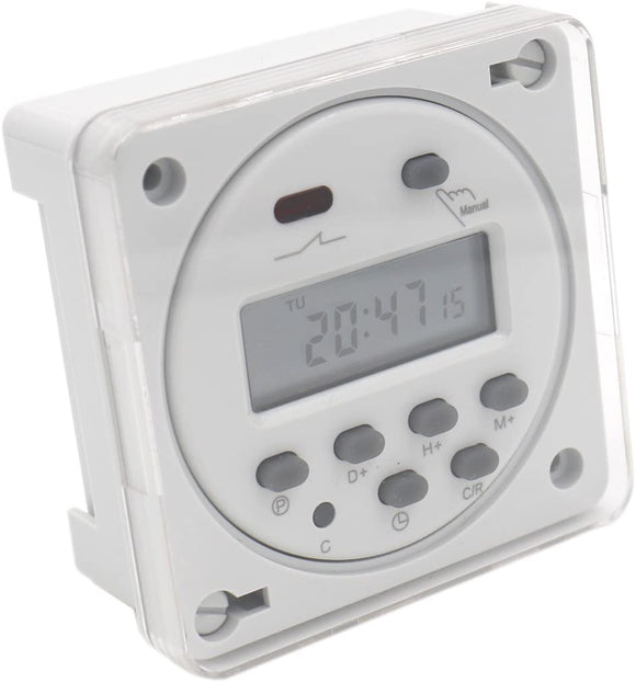 digital timer switch 24v cover