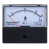 Rectangle Panel Mounted Current Meter Ammeter Tester