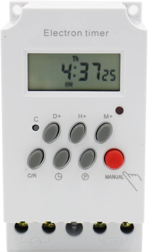Programmable timer switch 240v