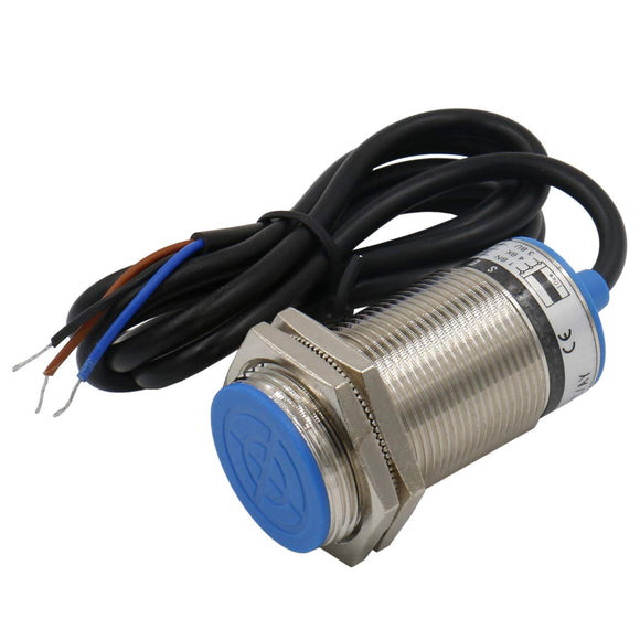 Heschen M30 Inductive Proximity Sensor Switch Screen Shield Type LJ30A3-10-Z/DX Detector 10mm 10-30VDC 200mA Normally Closed(NC) 2 Wire