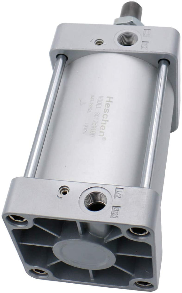 Heschen Pneumatic Air Cylinder SC 125 Series PT 1/2 Port 125mm(5