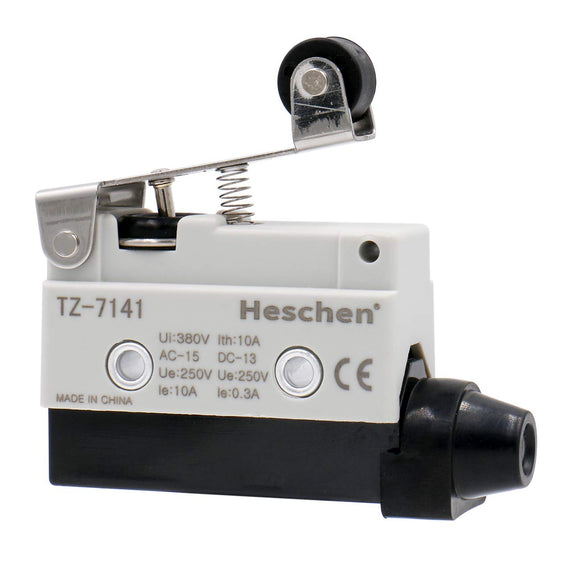 short roller lever limit switch