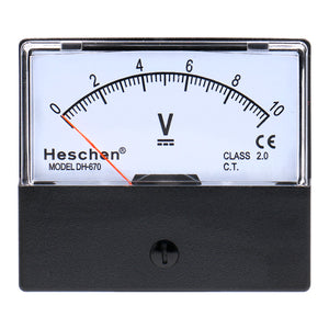 Panel Mounted Electricity Meter Ammeter Tester