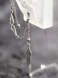 Feather Wing Chain Cuff Earring: Kpop Inspired Jewelry