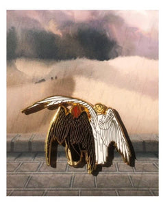 Good Omens Pin Aziraphale and Crowley
