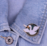 Goose with Knife Pin: Peace Was Never an Option