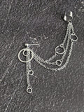 Kpop jewelry chain cuff earring Jokyo