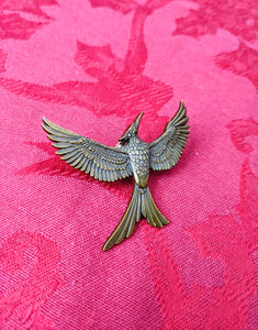 Hunger Games Mockingjay pin Katniss Everdeen