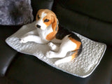 Pet Cooling Mat Pad Bed for Small Dogs or Cats Lightweight Washable Thin Blanket Cushion Breathable Fabric Quilted: Small Dog Mat