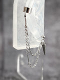 Dart Chain Cuff Punk Earring