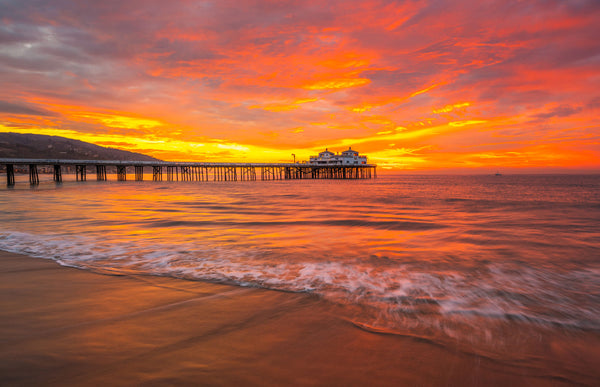 best places to see the sunset in malibu