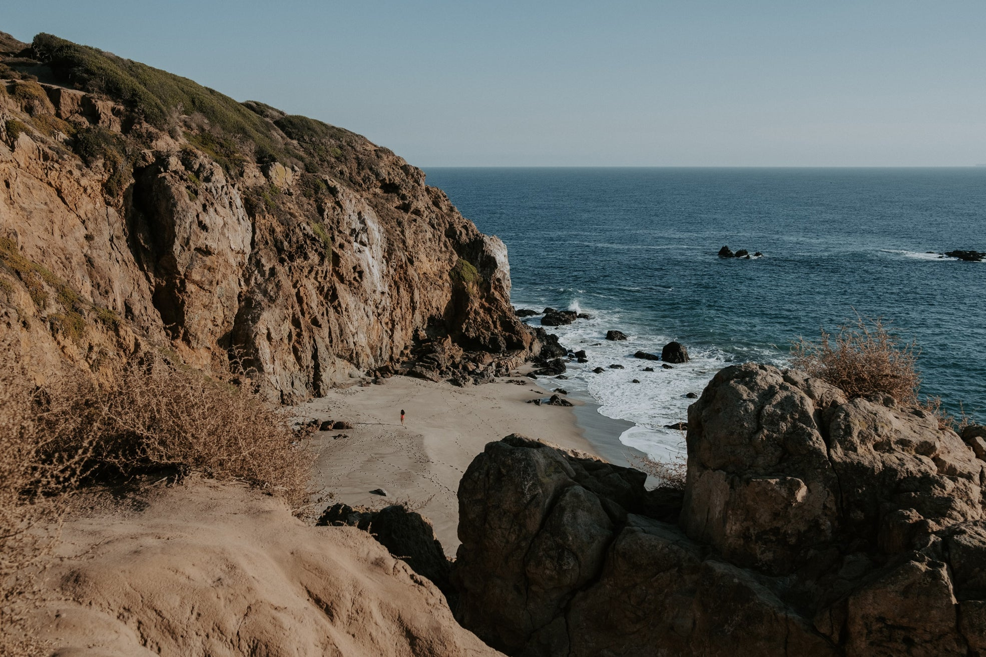 best beaches in malibu point dume