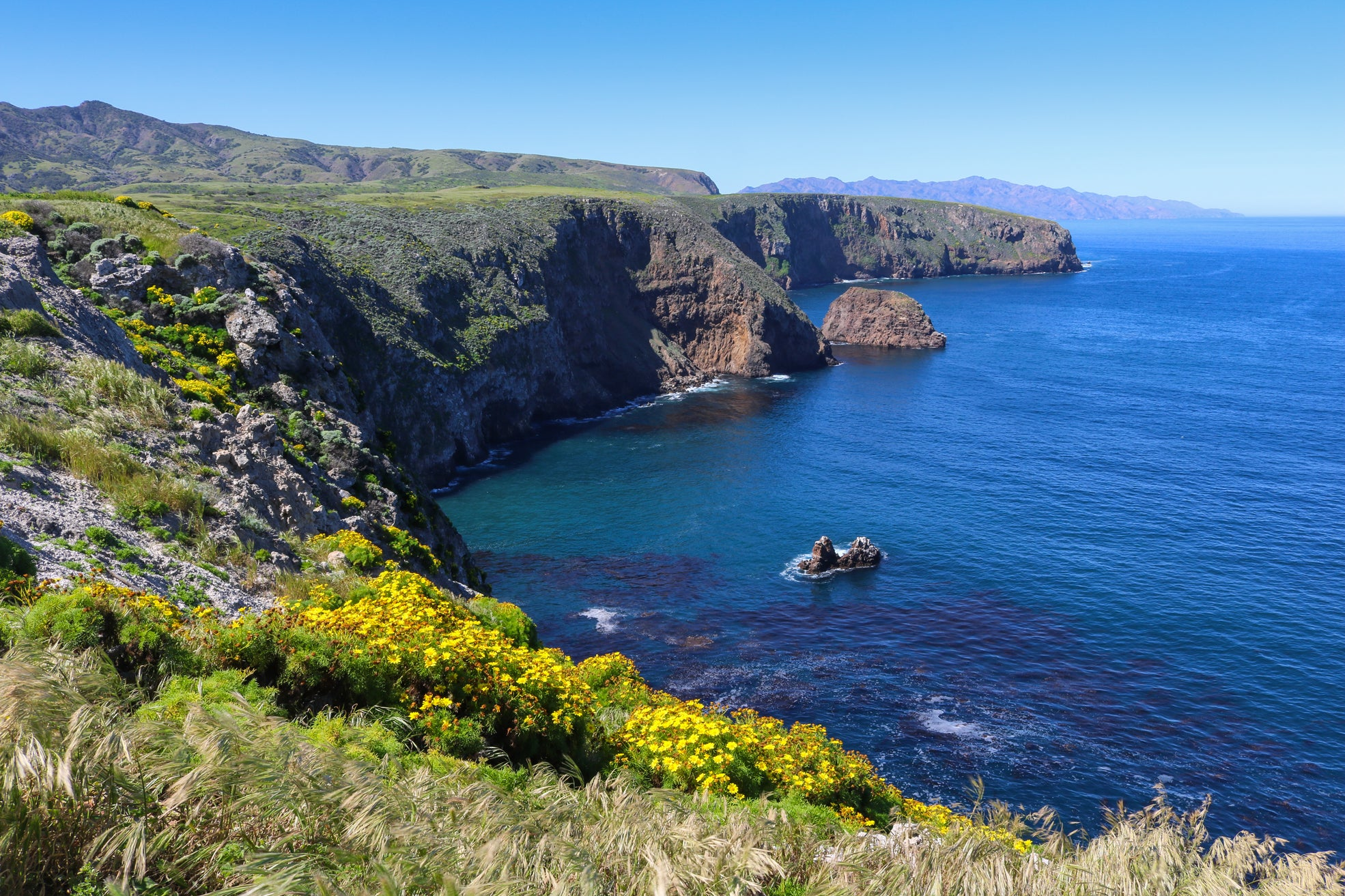 day trips southern California channel islands