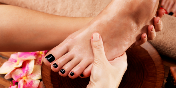 How can I whiten my feet fast?