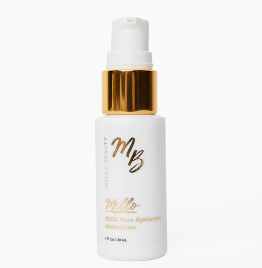 100% Pure Hyaluronic Moisturizer by Mello Beauty