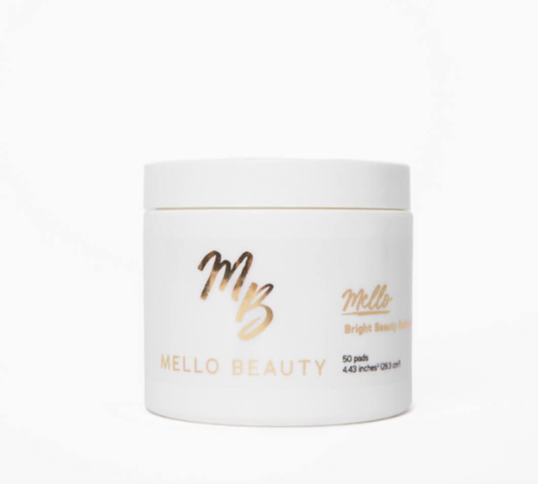 Bright Beauty Peeling Pads by Mello Beauty