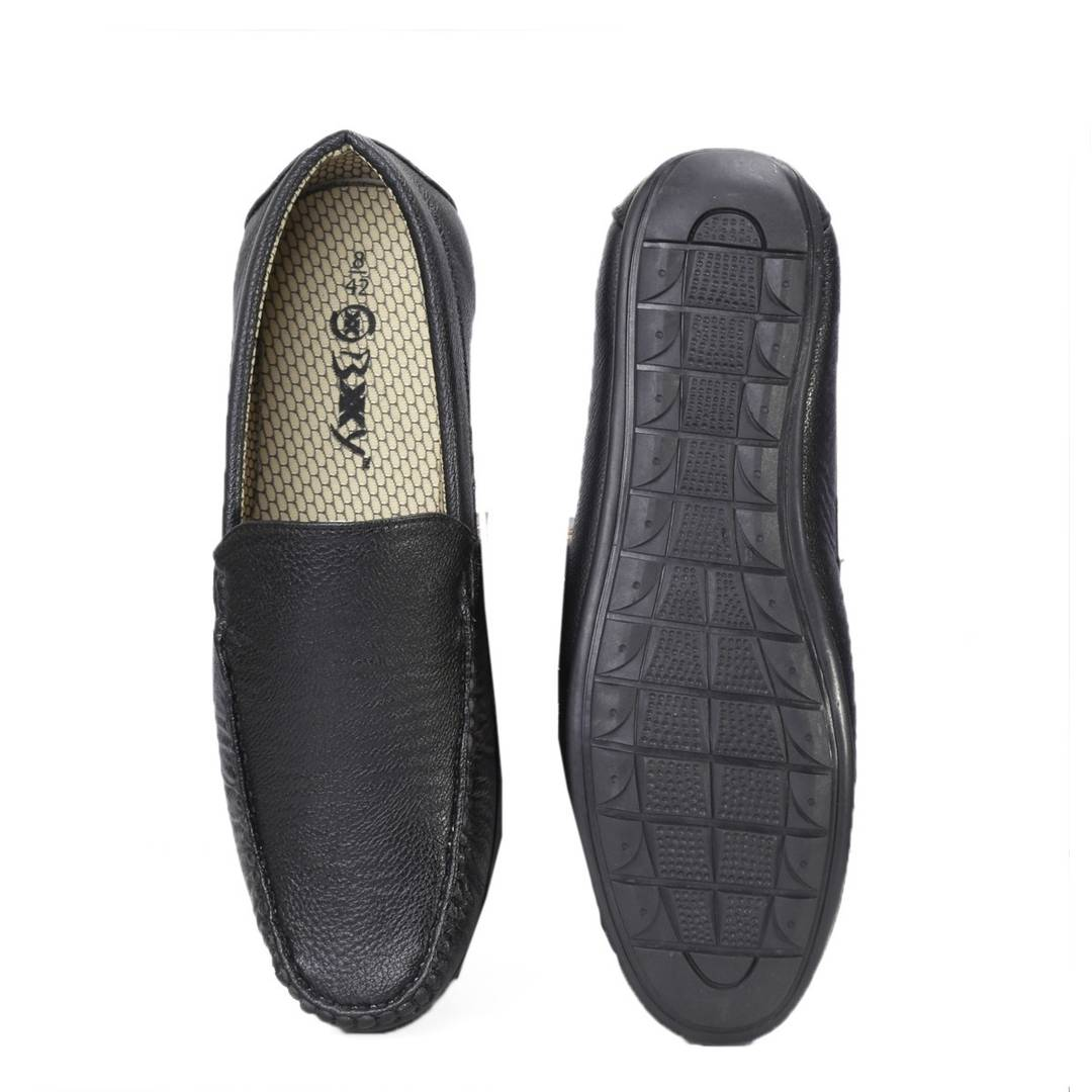 Black Casual Shoes For Men In Black