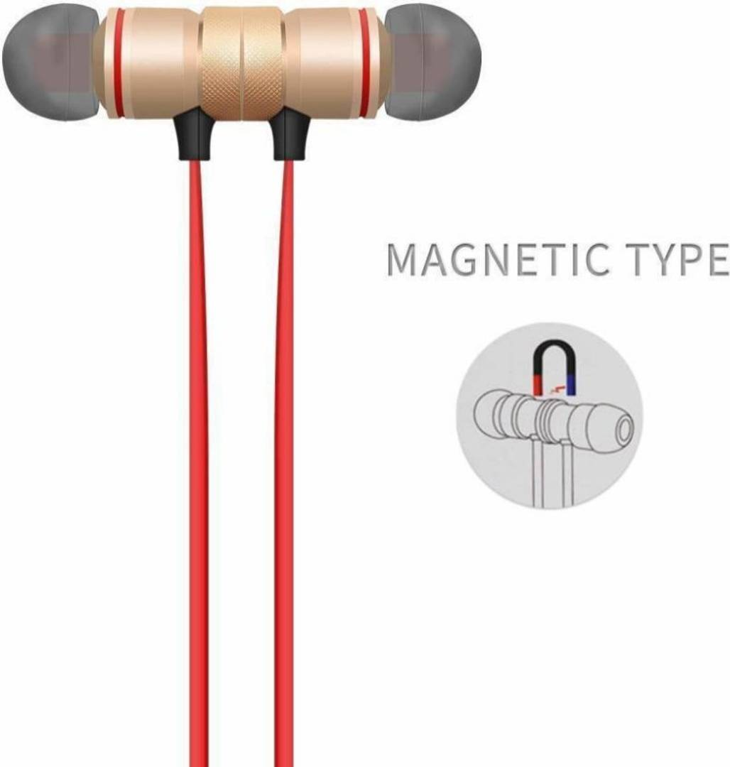 MAGNETIC BLUETOOTH Ear Buds Wireless Earphones Headphone With Mic