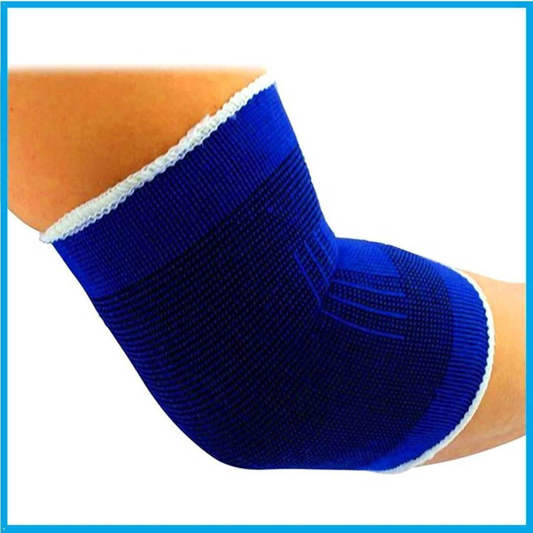 Elastic Elbow Support For Joint Pain Surgical & Sports Activity - 1 Pair