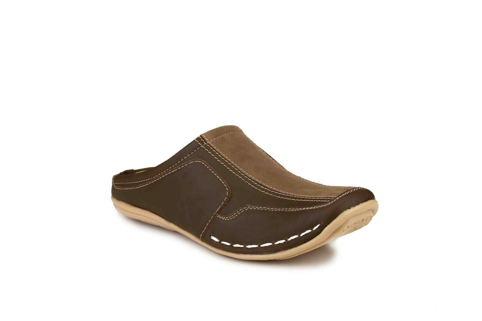 Men's Brown Synthetic  Comfort Sandals