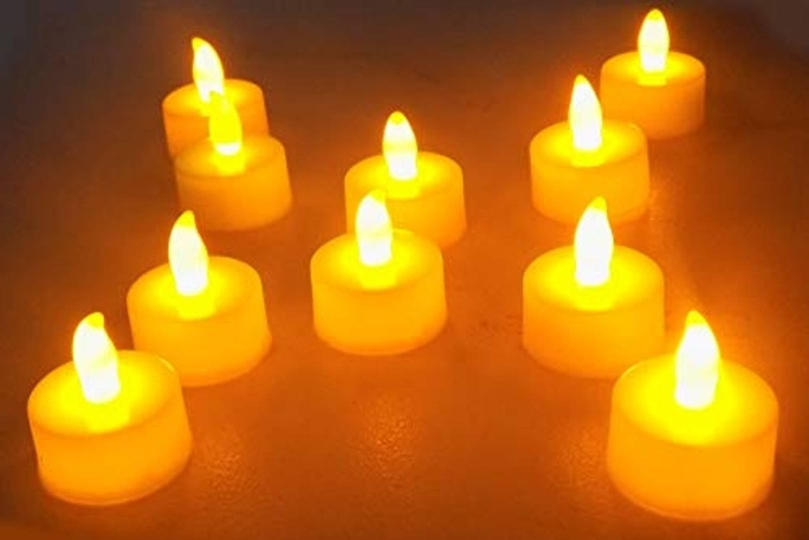 Fully Electric Candle Lights for Decoration Led Candle Lights Tea Lights Candles Smokeless Candles for Decoration Set of 12 Pcs 20 Gram Pack of 1