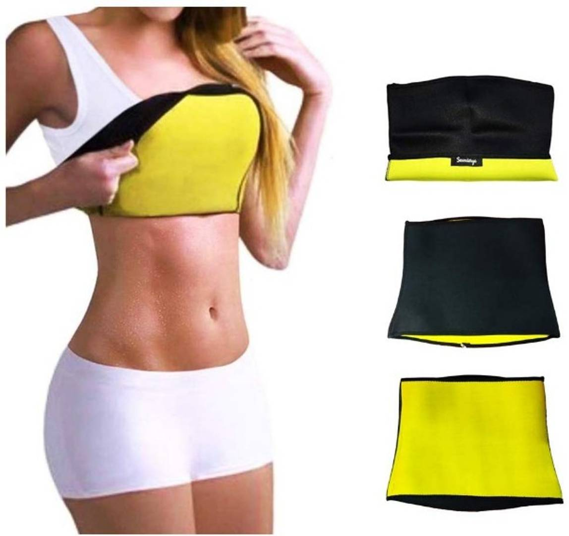 Shaper Belt Non-Tearable Tummy Trimmer for Men & Women (Size M, L, XL, XXL, 3XL & 4XL)