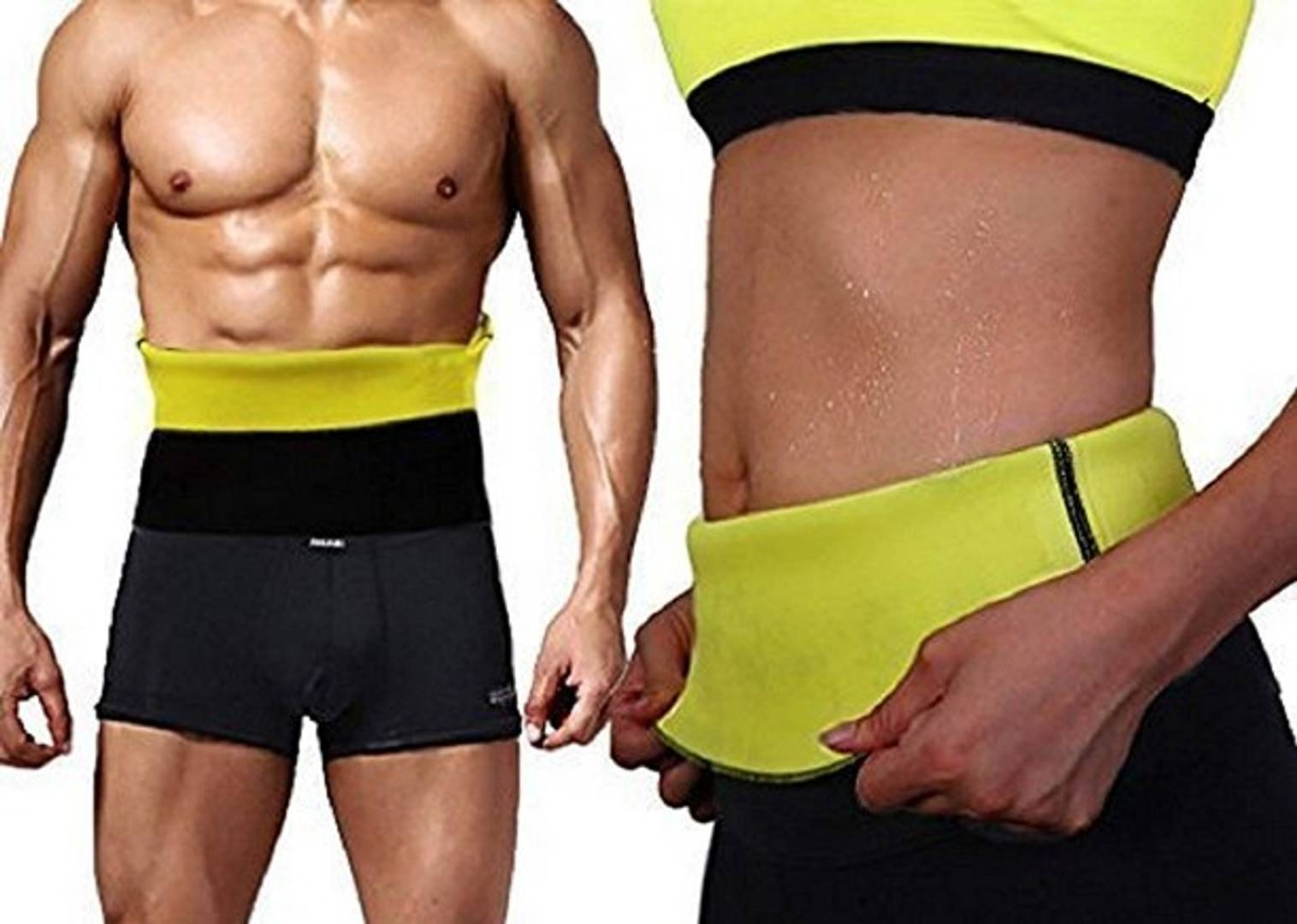 Sweat Shaper Belt, Belly Fat Burner for Men & Women