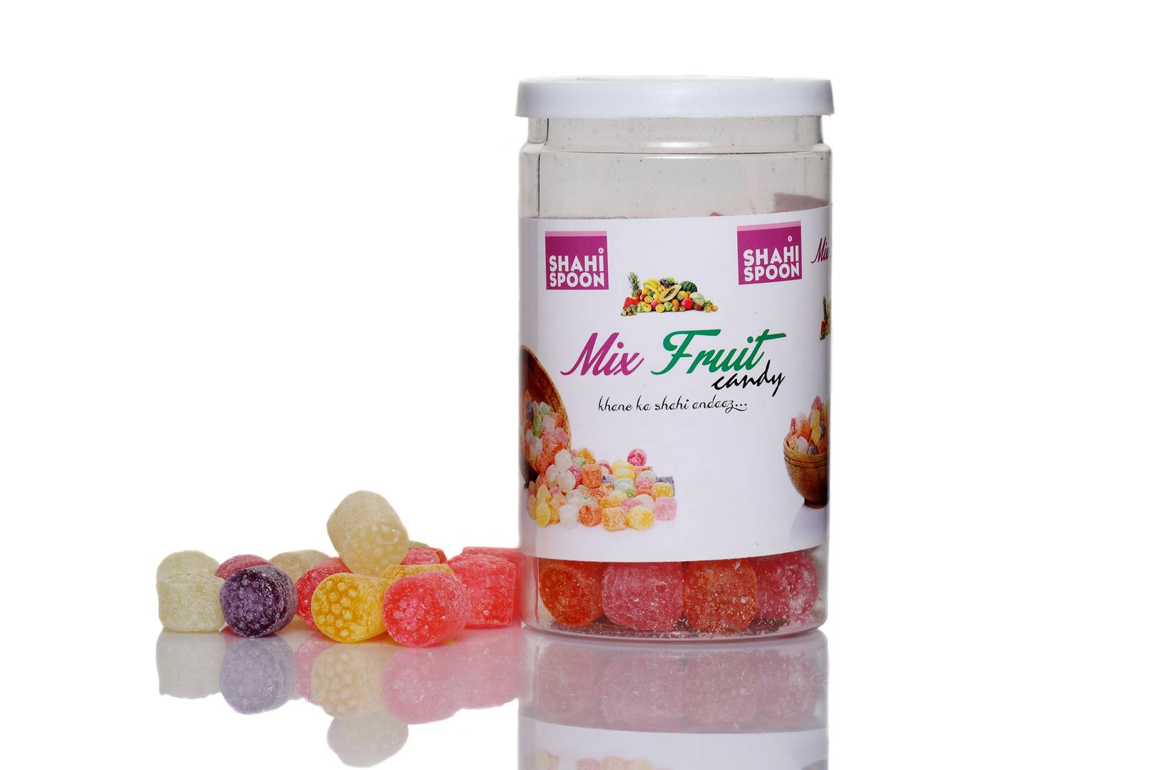 Shahi Spoon Mix Fruit Candy,135gm-Price Incl.Shipping