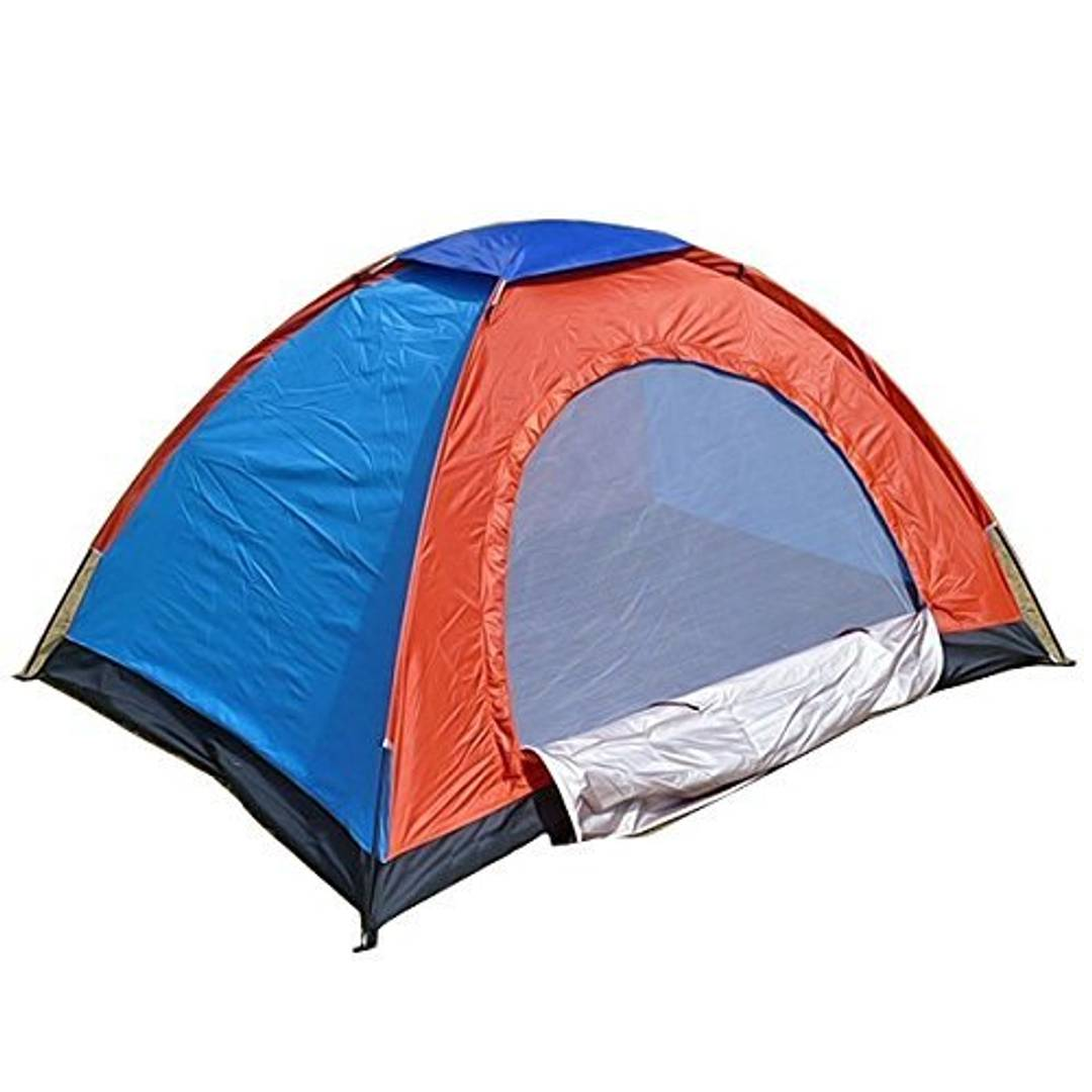 Shopper52 Anti Ultraviolet Outdoor Camping Tent Portable Foldable Tent for Picnic/Hiking/Trekking Tent Dome Tent Travelling Tent Water Resistant Tent 2 Person Tent - TNT01