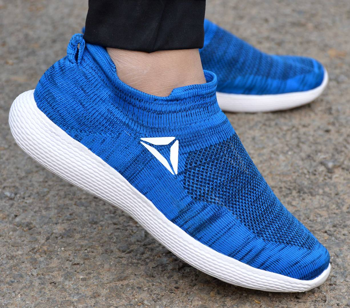Elegant & Stylish Blue Slip On Sports Sneaker For Men