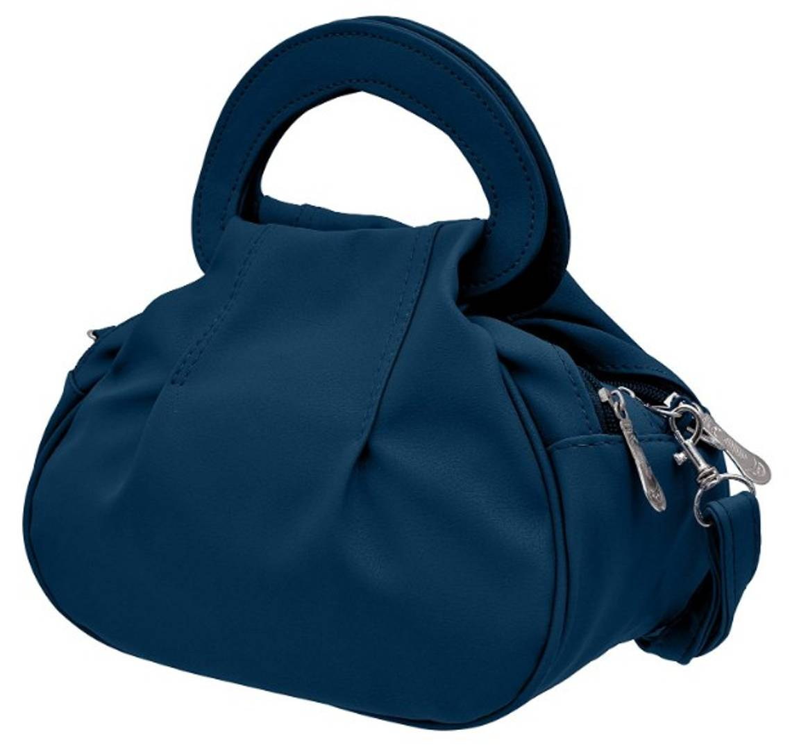 Elegant PU Handbag With Sling Strap
