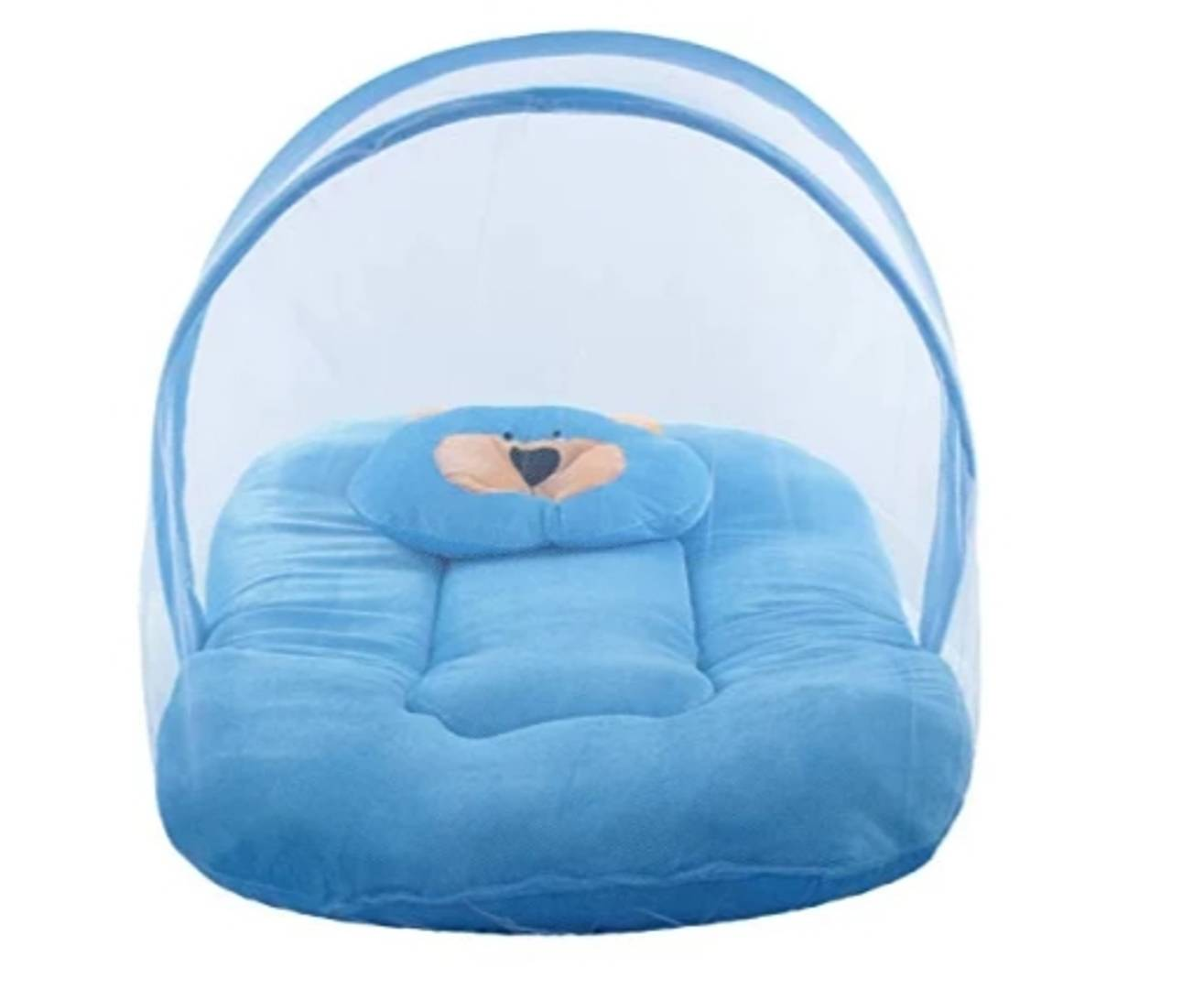 Baby Mosquito Net Cum Bedding Set
