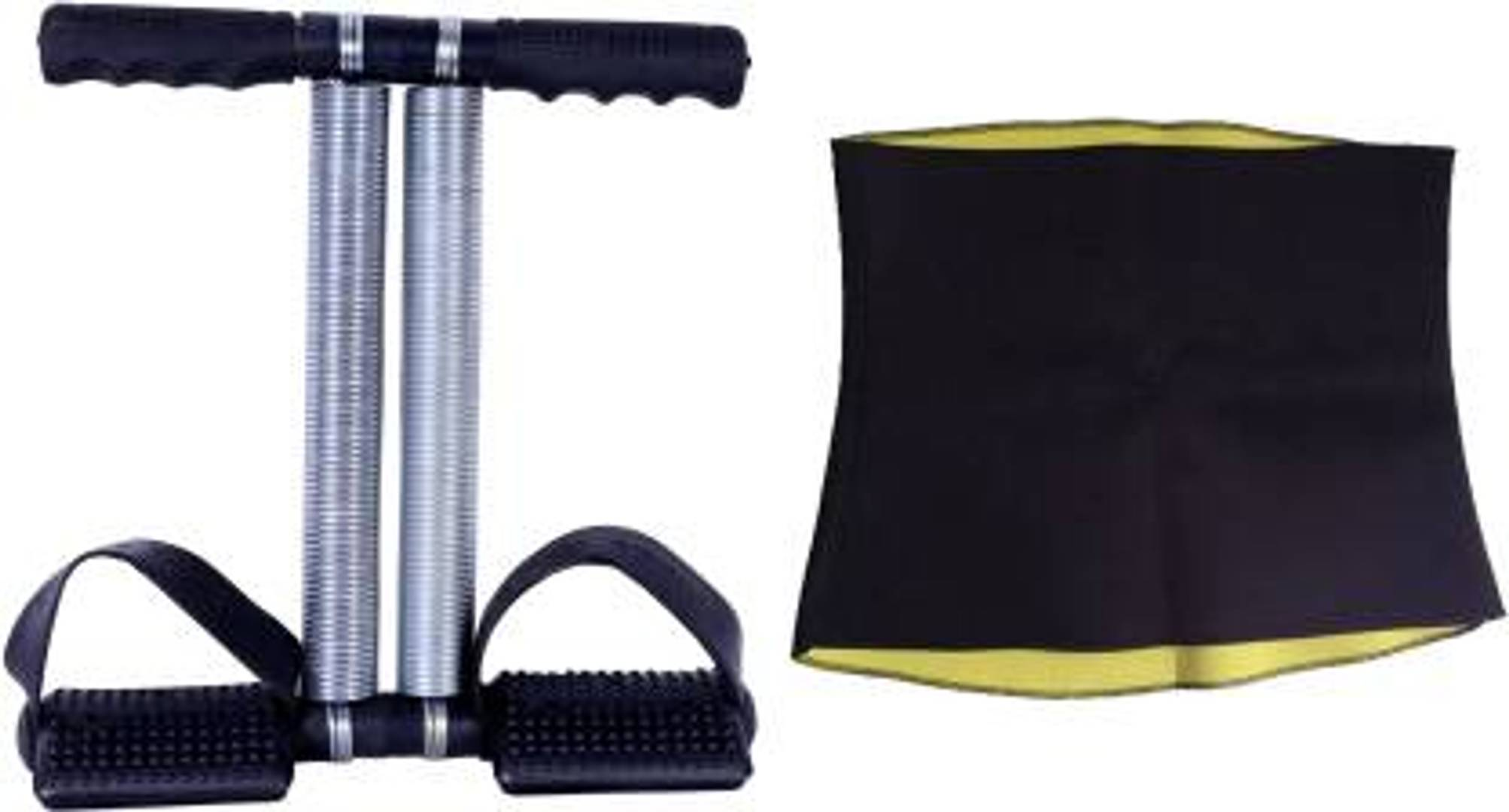 Combo of Hot Shaper Belt Tummy Trimmer ab exerciser home & gym equipment (2 Items in the set)