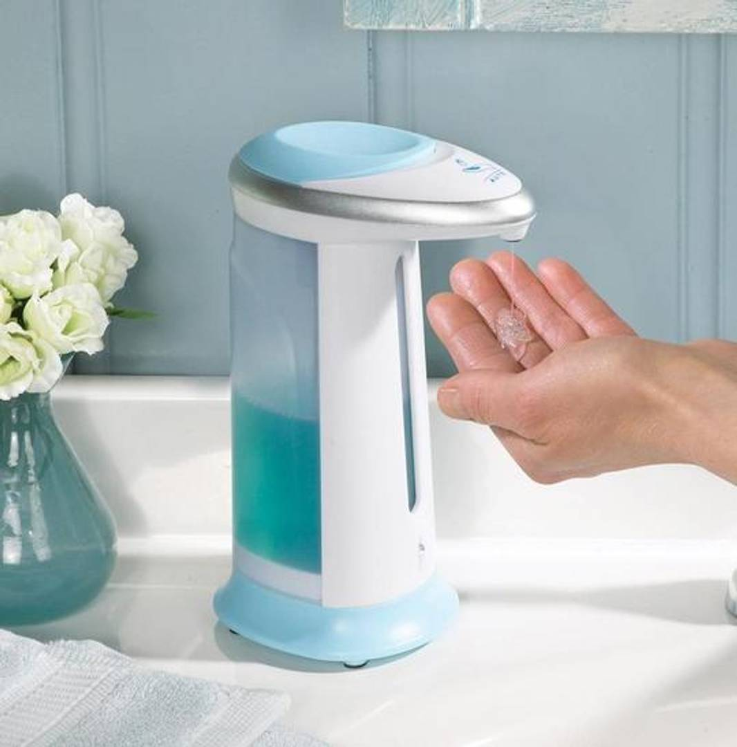 Automatic Hands Free Touch less Liquid & Sanitizers Soap Dispenser