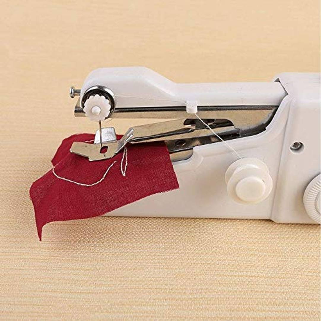 Electric Mini Sewing Machine Handheld Handy Stitch Machine