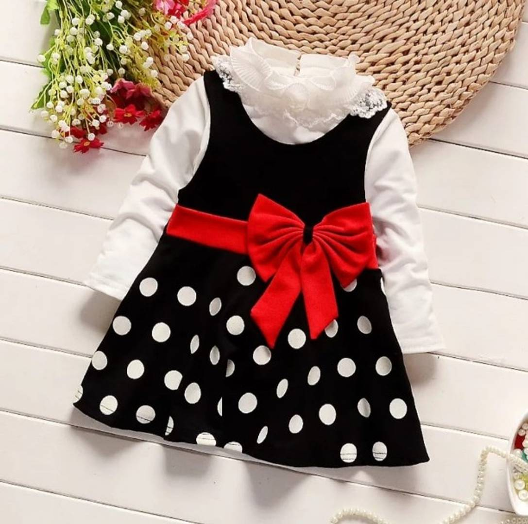 Stylish Beautiful Imported Fabric Frock For Girls