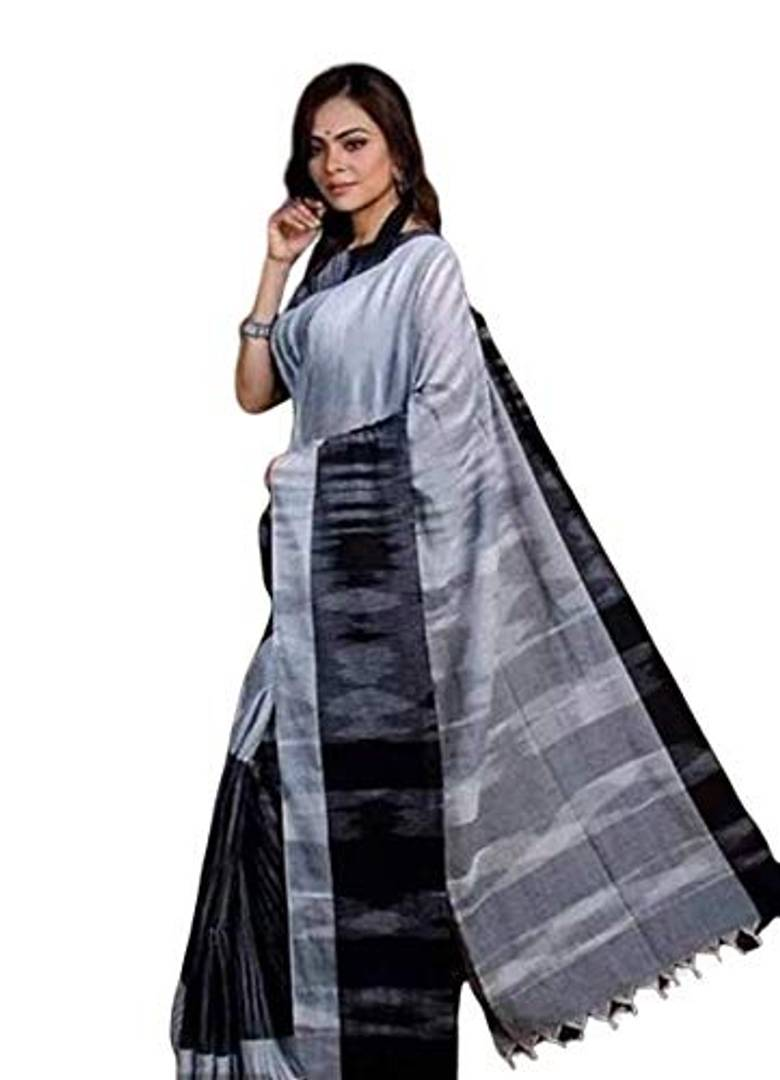 Women Stylish Khadi Cotton Saree