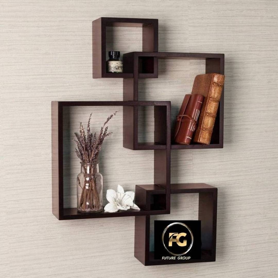 Beautiful Stylish MDF Fiber Wooden Rack Shelf
