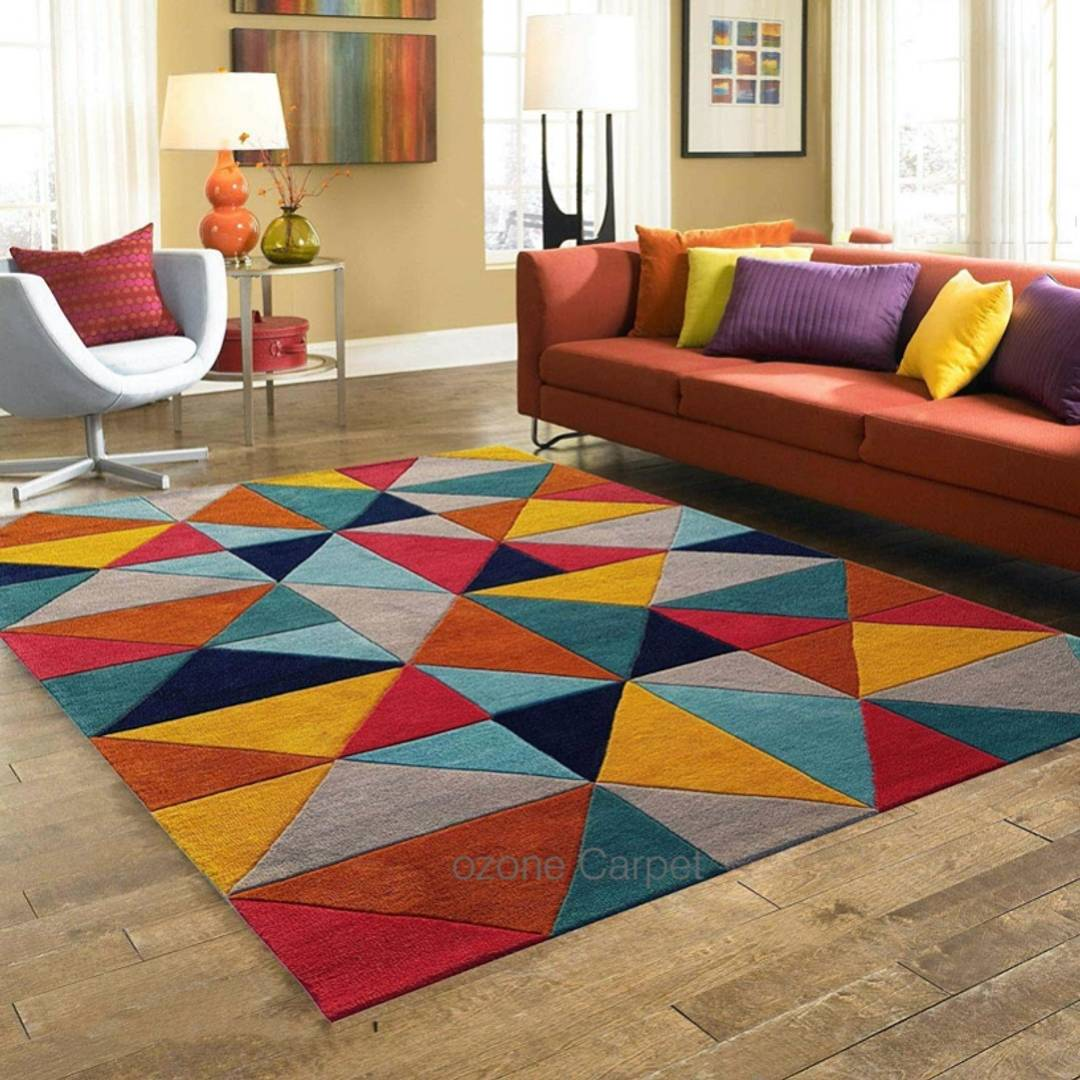 Carpet Pure Wool Carpet Rug for Living Room Bedroom & Hall