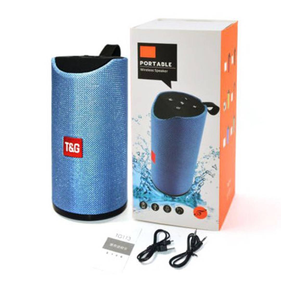 GT-113 Wireless Bluetooth Speaker With Super Deep Bass