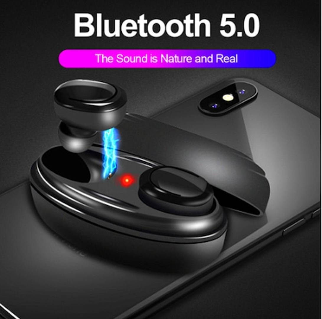 M1 True Wireless Earbuds (Tws) Ipx 5 & Digital Display Charging Case, Bluetooth Earphones With Mic For Calls & Hd Stereo Music