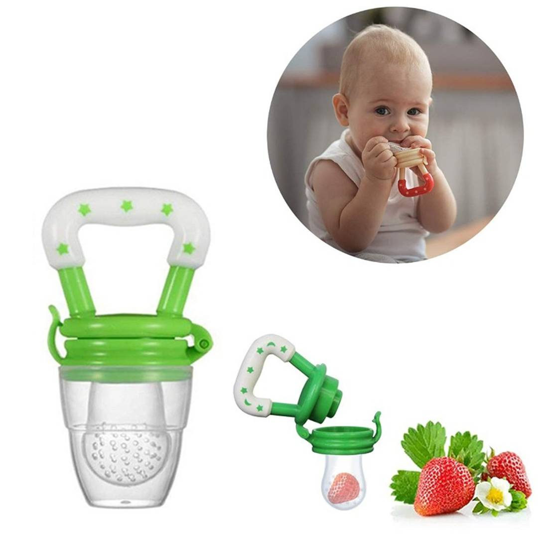 Silicone Fresh Fruit Food Feeder For Baby