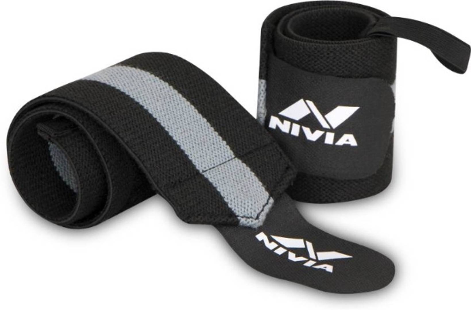 Weight Lifting Wrist Support (Pack of 2) Wrist Support  (Black)