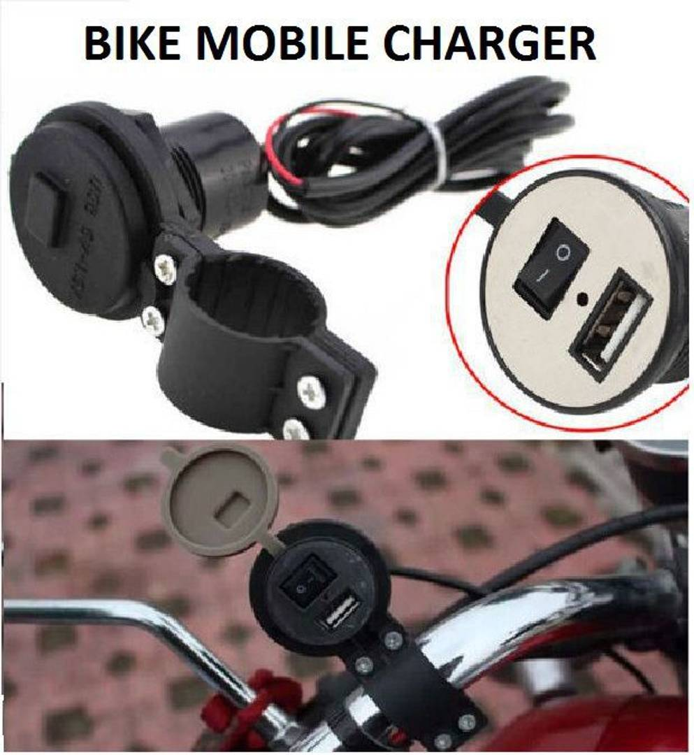 USB Bike Mobile Charger For Two Wheelers