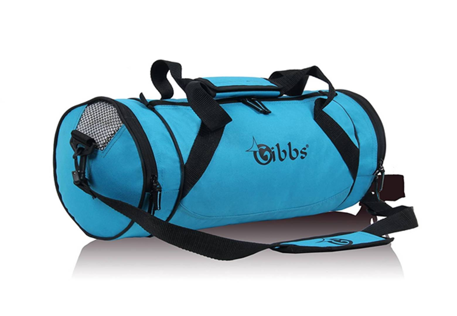 TRAVEL DUFFEL Bag (BLACK BLUE)