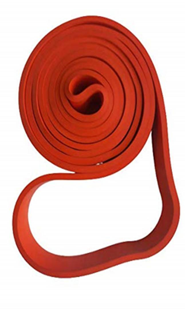 Loop Band Stretch for Exercise, Legs, Gym, Workout (Red)